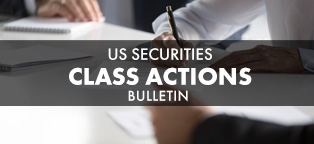 Image: US Securities Class Actions - No Sign of Slowing Down